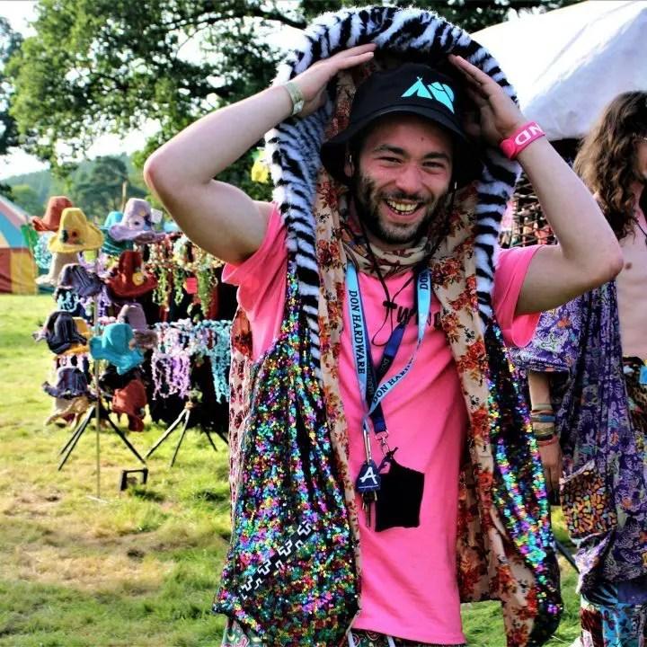 Don Hardware Festival bucket hat