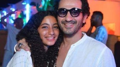 أول ظهور لابنة أحمد حلمي و منى زكي