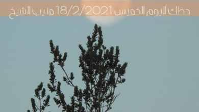 توقعات برج الحظ اليوم الخميس 18/2/2021 منيب الشيخ | والأبراج اليوم 18 فبراير 2021