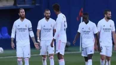 بعد التعادل مع سوسيداد مارس يقرر مصير موسم ريال مدريد