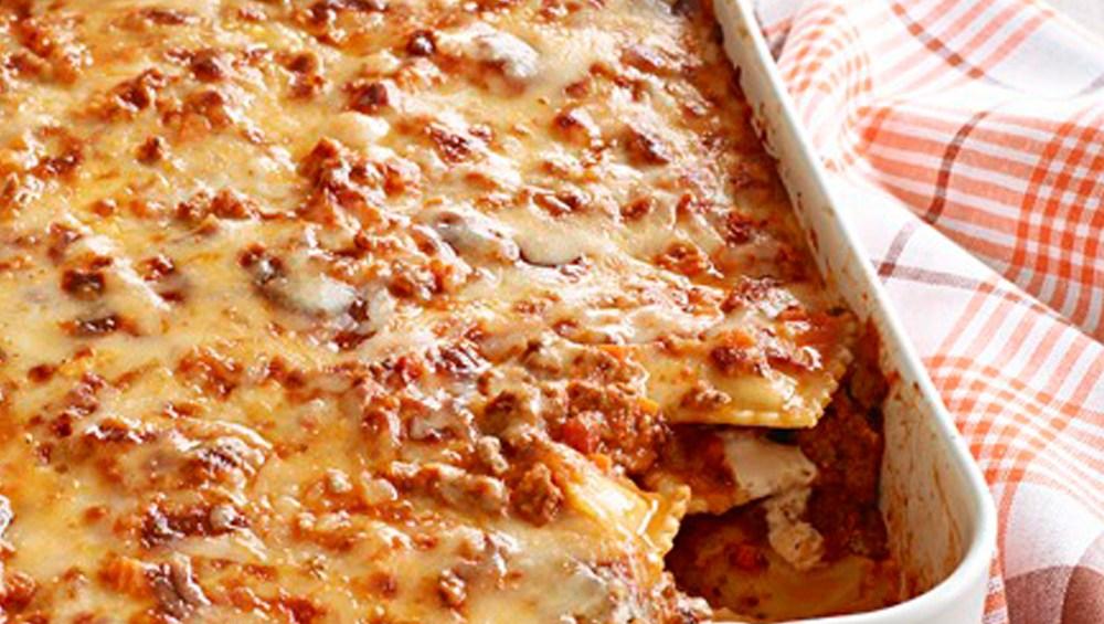 lasagna de ravioles