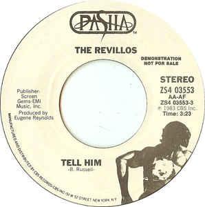The Revillos- Tell Him 45