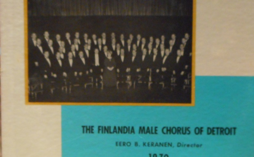 The Finlandia Male Chorus of Detroit