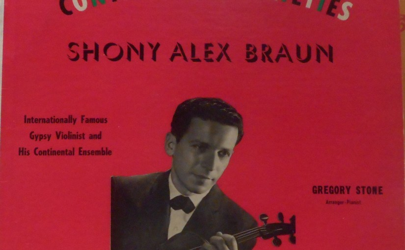 Shony Alex Braun – Continental Varieties