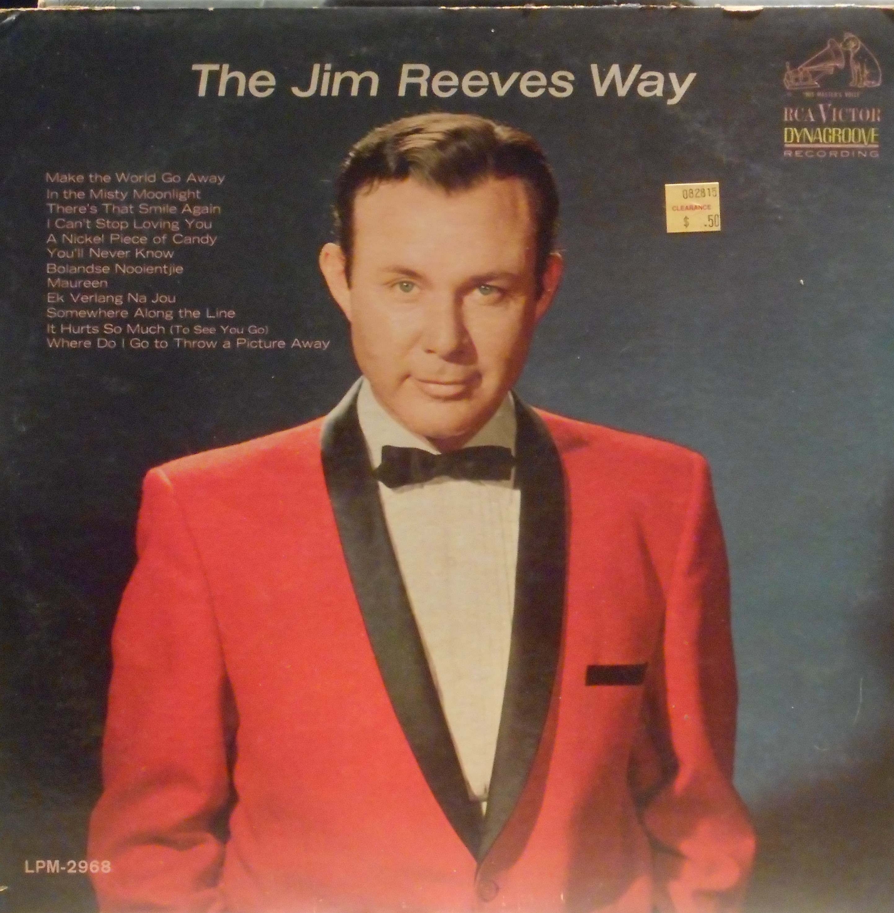 Jim Reeves- The Jim Reeves Way – DONKEY-SHOW