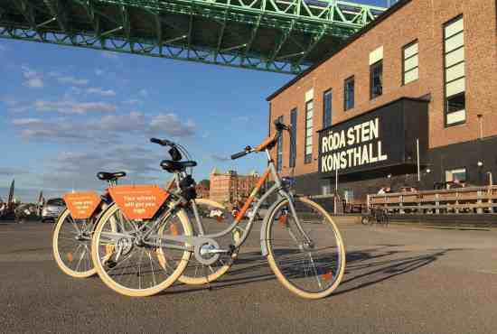 Free things to do in Gothenburg – on a bike!