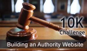 10K Challenge: Building an Authority Website