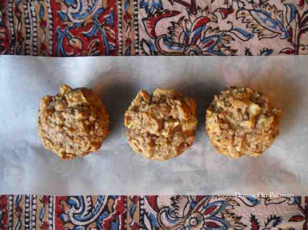 Three Apple Muffins