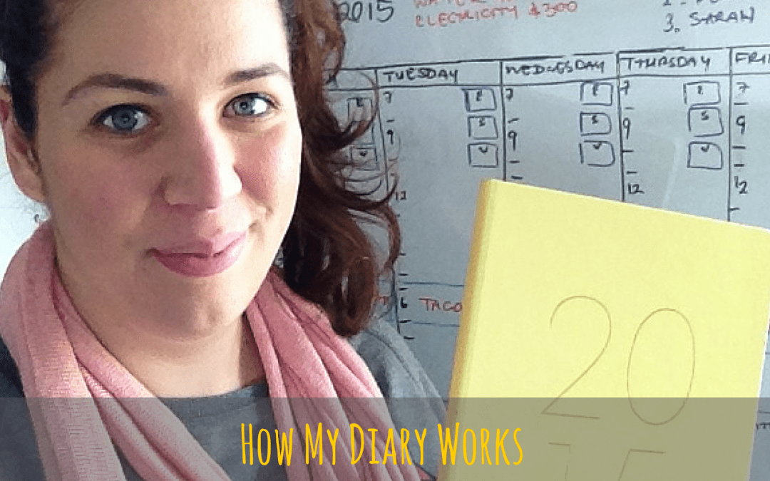 How I Manage My Diary With A Business & Newborn Baby