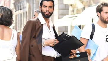 """Federico Fashion Style furioso: """"Mi avete distrutto l'auto"""""""