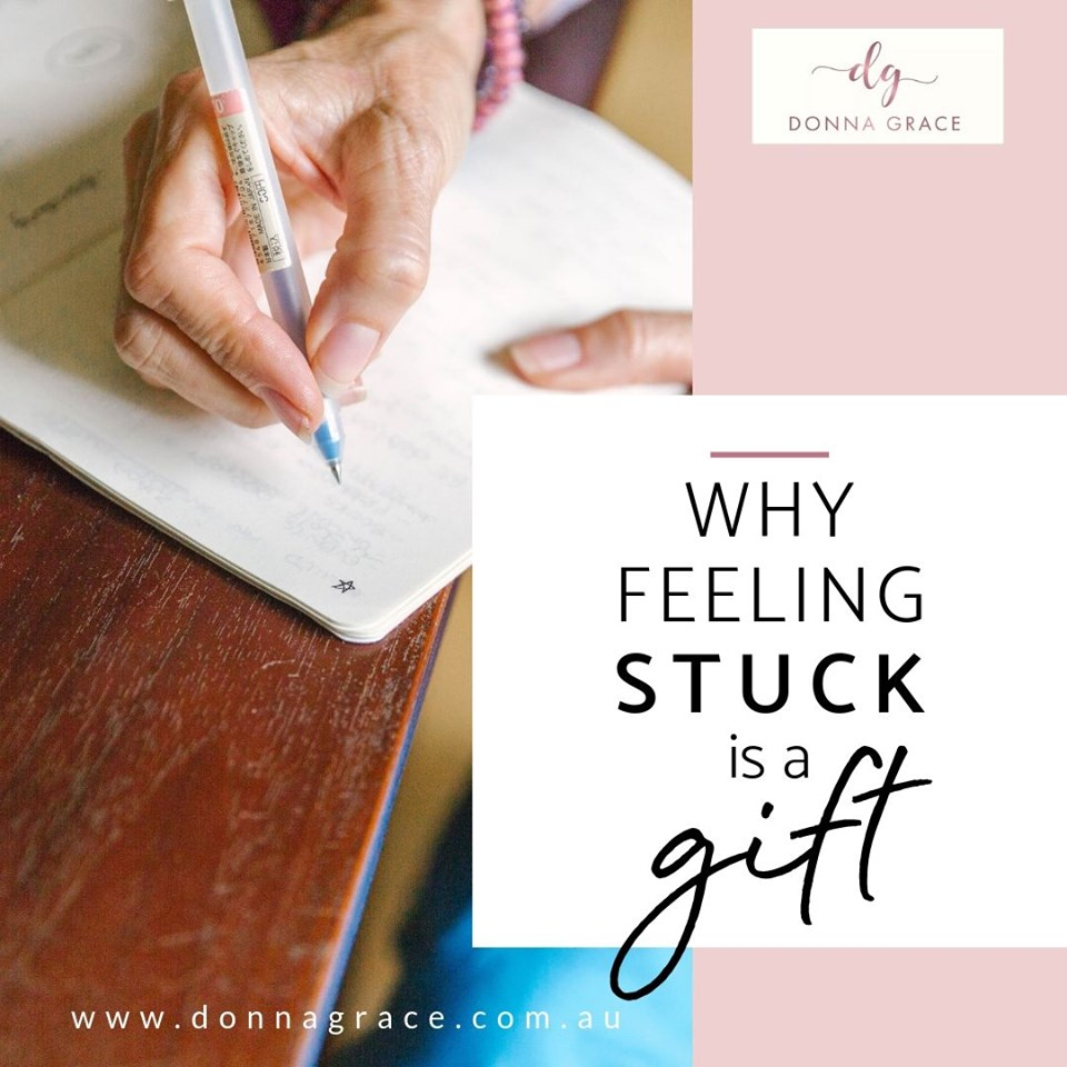 The Good News About Feeling Stuck