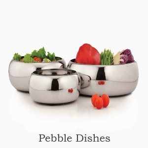 pebble dishes