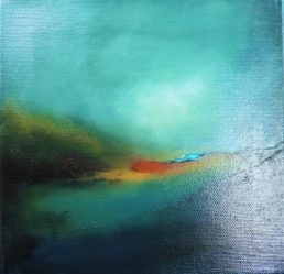 Into the Ether Series Abstract contemporary paintings