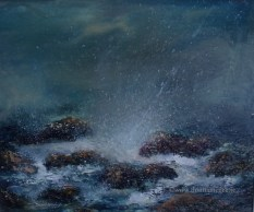 Rocky Shores II Seacape- 10x12 inches - oil on board