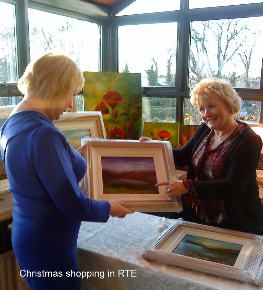 RTE Craft Fair -shopping for Christmas