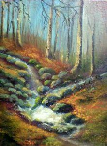 Irish Art- Cruagh Wood - dublin mountains