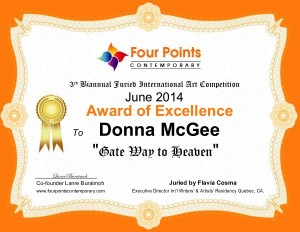 Award of Excellence - Gateway to Heaven, Donna McGee