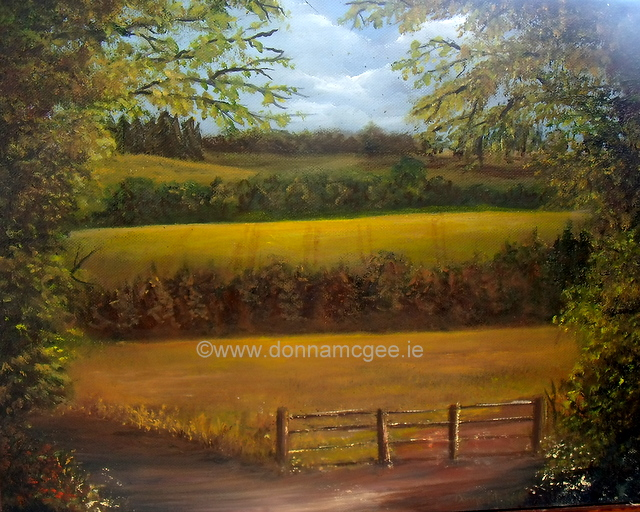 Clonegal, Carlow painting