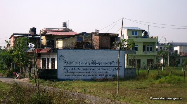 Signs from the road in Nepal - Coach Travel Adventure - Nepal