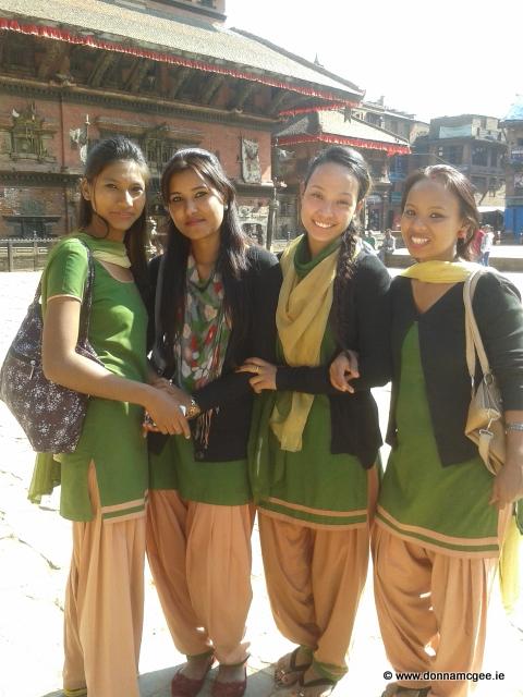 Nepalese ladies