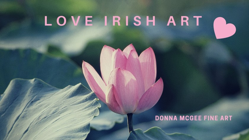 Love Irish Art - Donna McGee Landscape Artist