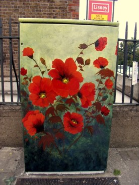 Nearly finished painting at Poppy Corner