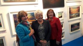 Art Source 2016 - Donna McGee Fine Art - Donna McGee enjoying a laugh with friends