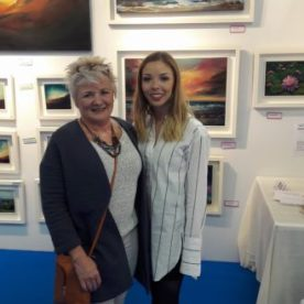 Art Source 2016 comes to an end - Mother and Daughter
