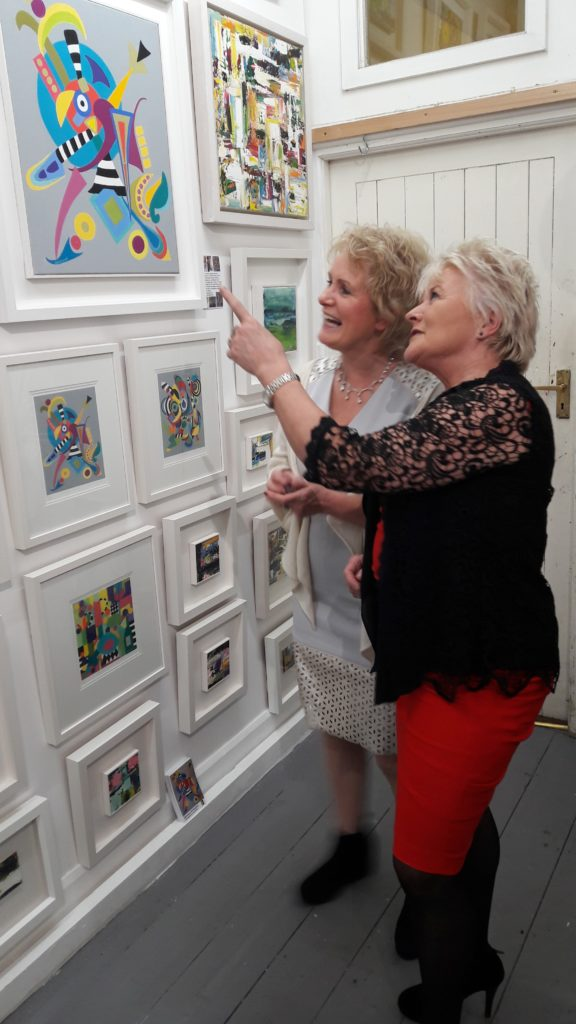 Enniskerrry Christmas Art Exhibition with Donna McGee