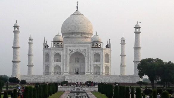 The lure of India and Taj Mahal