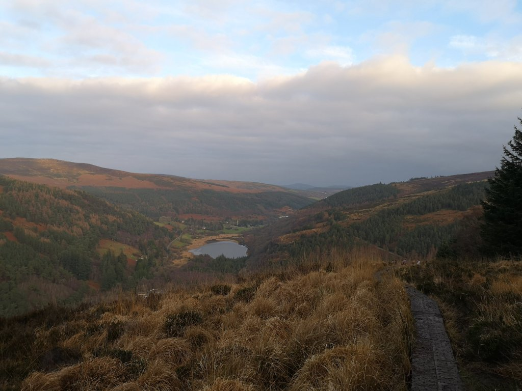 On top of the world in Glendalough Co. Wicklow
