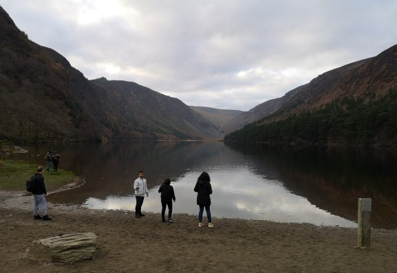 Skimming stones in Glendalough.jpg