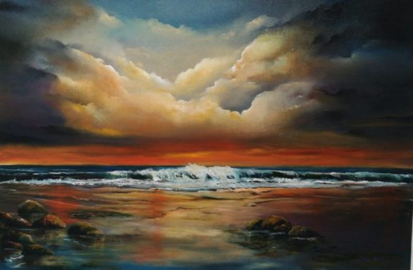 Eternal LIght 20x30 inches Oil on Canvas