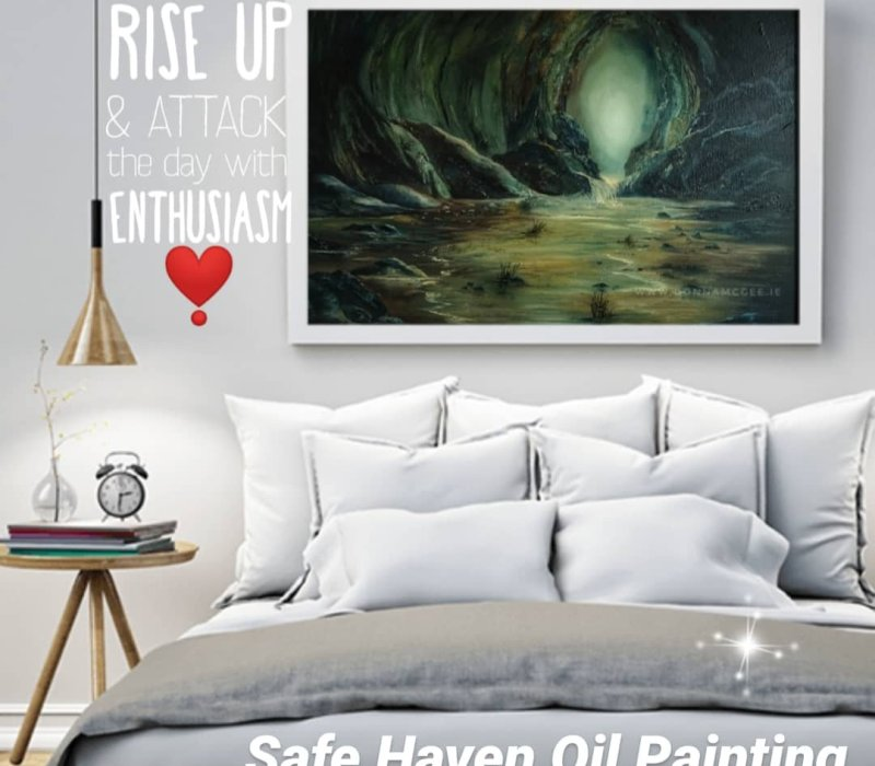 Safe Haven in room setting