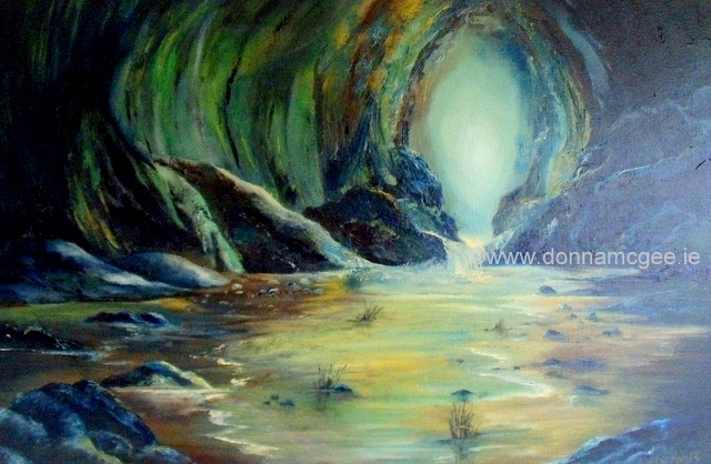 Safe Haven – Oil on Canvas 20 x 30″ oil on canvas