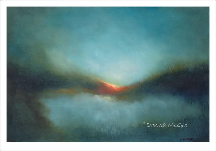 Skyfall 60 x 40 cms Giclee Print