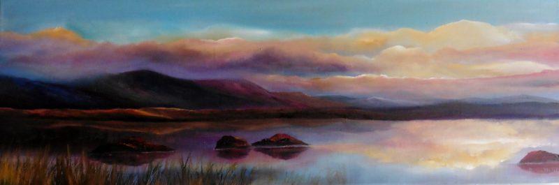 twelve bens oil painting