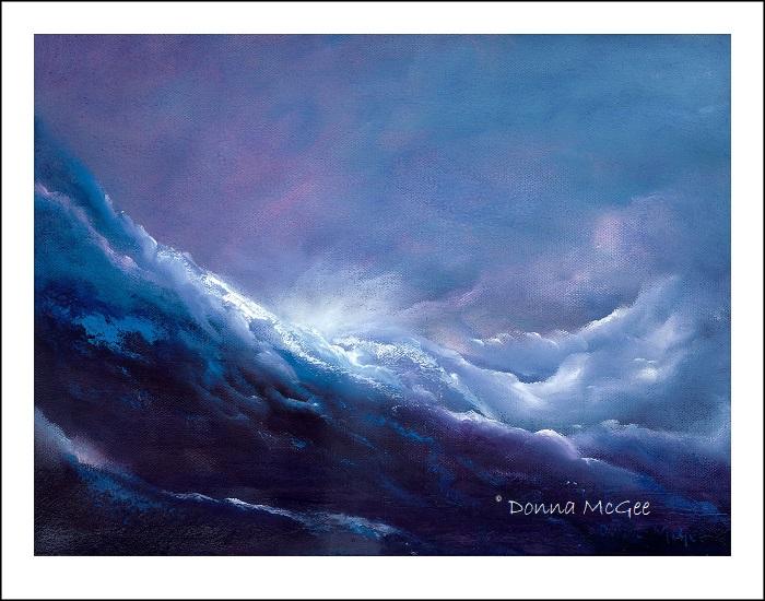 celestial rush 40 x 30 cms Giclee Print