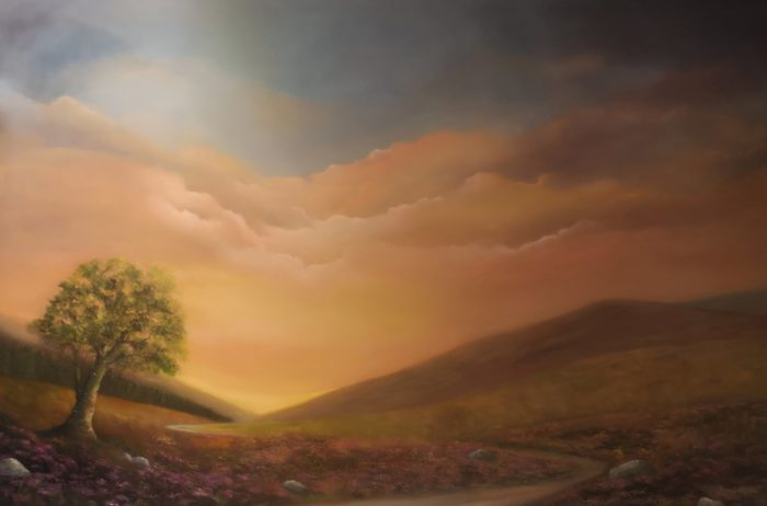 heatherfields-afterglow-150x100cms-oil-on-canvas