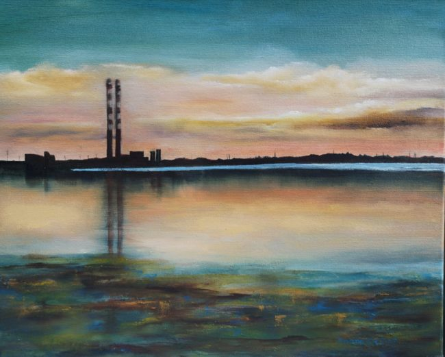 /poolbeg-generating-station-pigeon-house-16x20-Oil-on-Canvas.jpg
