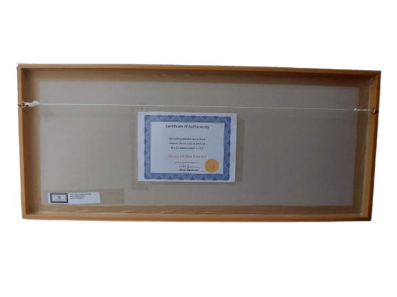 Sea to shore Achill Island limited edition giclee print authenticity cert