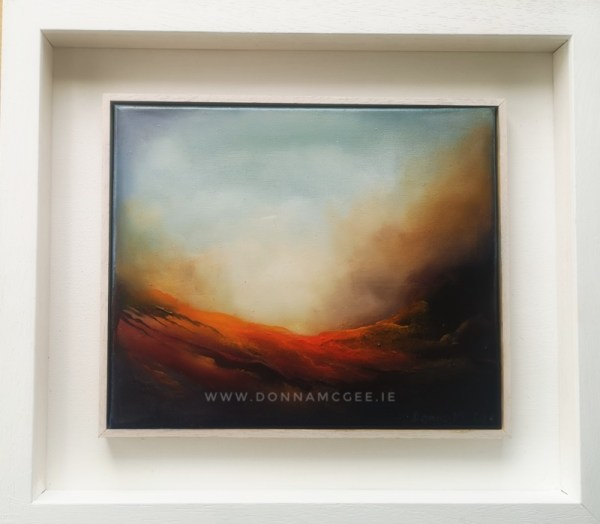 daybreak abstract oil painting