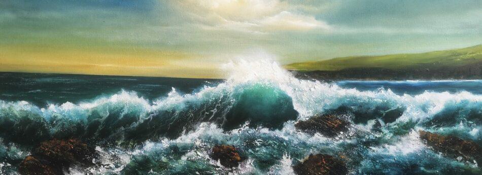 Slea Head Drive Dingle Peninsula Wave