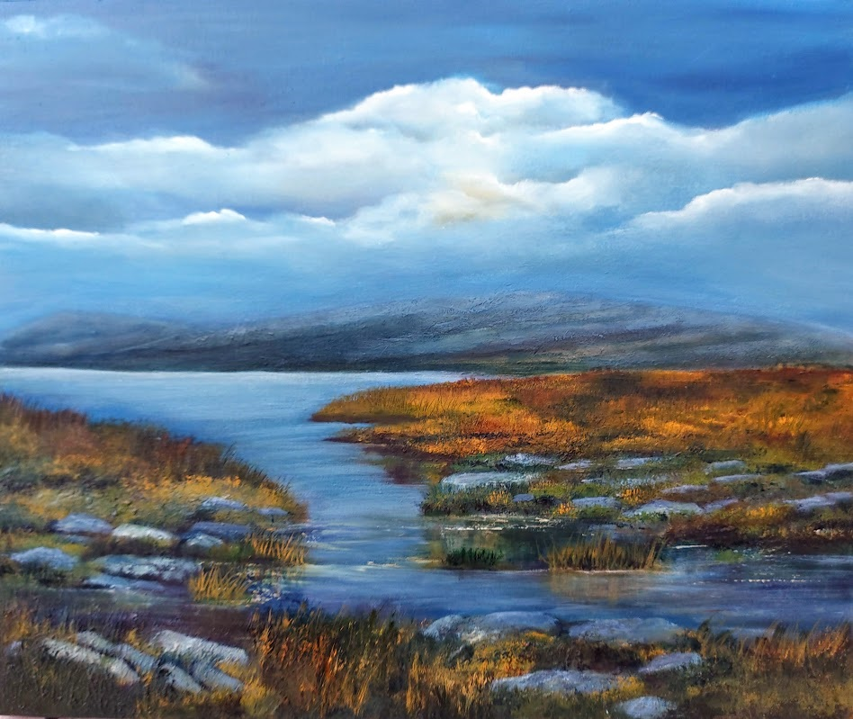Burren Heart and Soul Oil Painting
