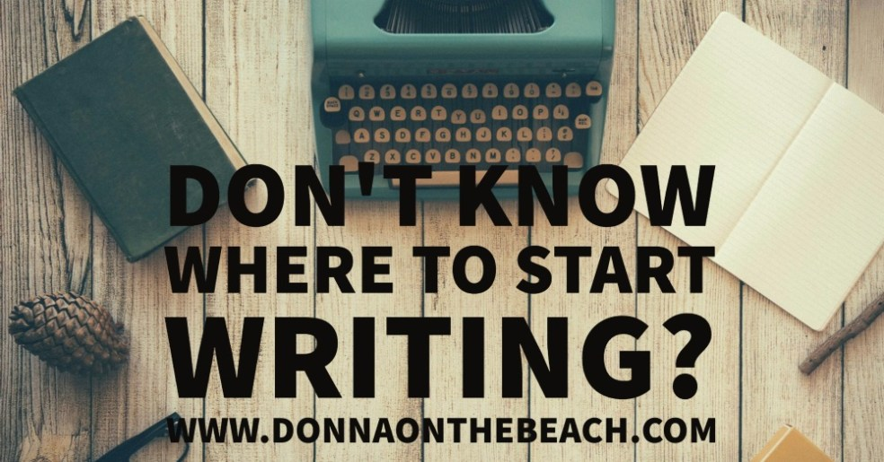 where to start writing