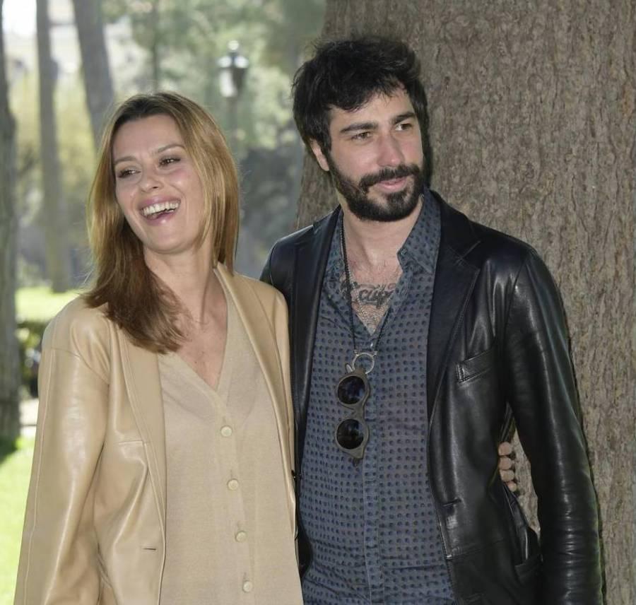 Claudia Pandolfi e il marito Marco De Angelis