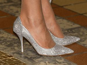 I cuscinetti di gomma sul tallone indossati da Kate Middleton