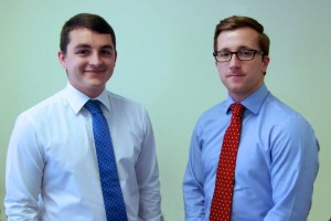 Photograph of Kevin Donoghue and Daniel Fitzsimmons on Donoghue Solicitors