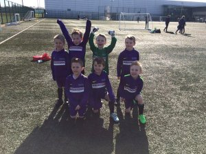 Photo of the Springwell Park football team at Finch Farm.