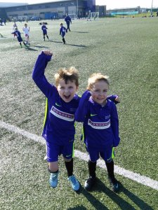 Photo of Springwell Park School Year 1 football team players